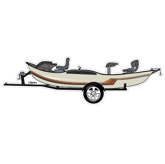 "2"" x 6.75"" Sunrader Drift Boat"