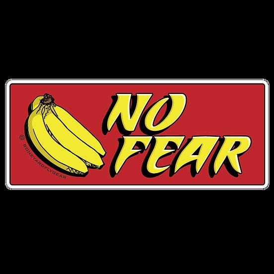 "3.75"" x 9"" No Fear Bananas"