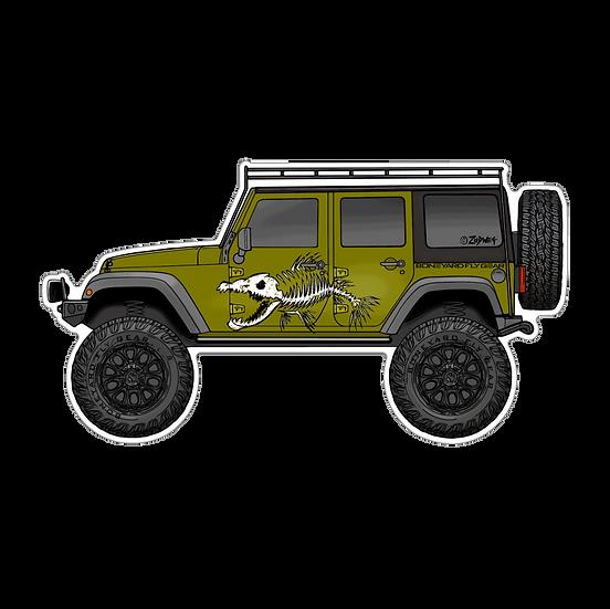 """3"""" x 5.5"""" OD Jeep JK"""