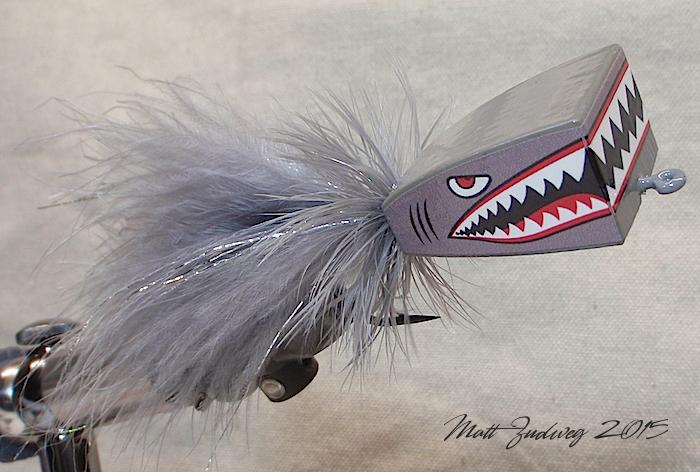 Shark Balsa Popper 6/0