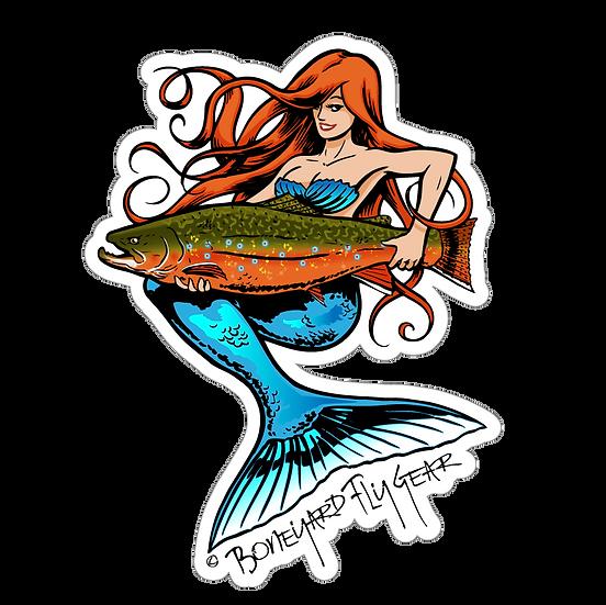 """5"""" x 6.5"""" Mermaid Brook Trout"""