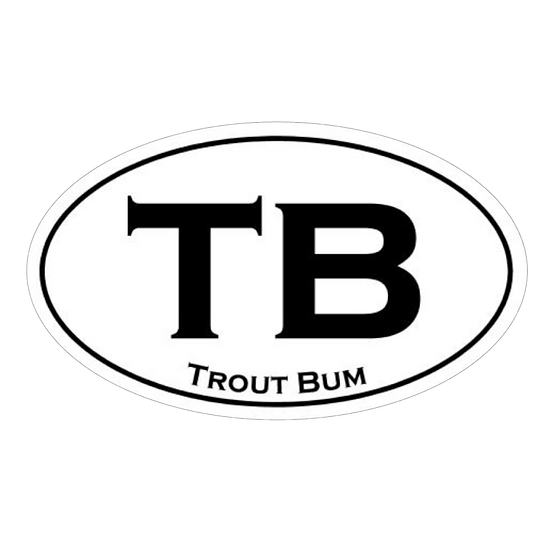 "3.5"" x 6"" TB - Trout Bum"