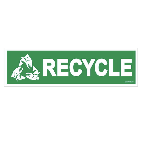 """3"""" x 10"""" Recycle long"""