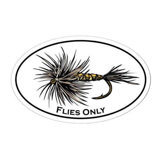 "4"" x 6"" Flies Only Hex"
