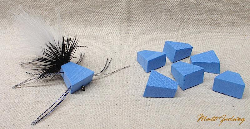 """6 pack """"Zudbubbler"""" Popper Bodies - Blue"""