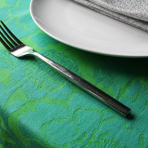Chrysanthemum Tablecloth Teal