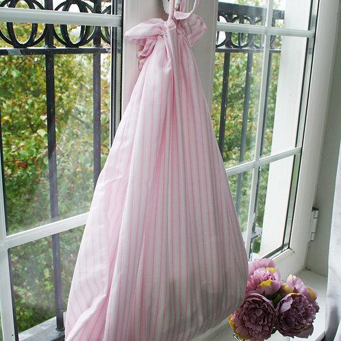 Papillion Stripe Laundry Bag