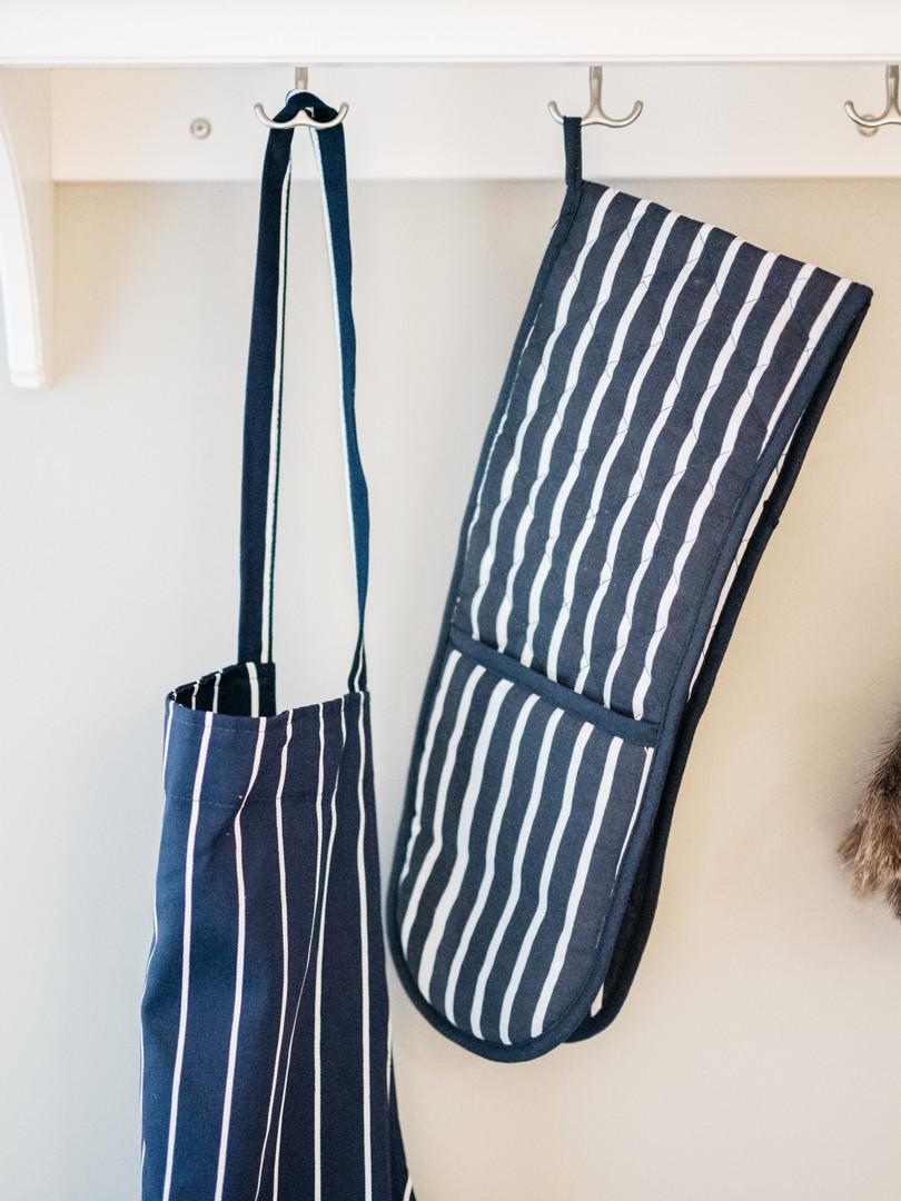 Butchers Stripe Kitchen Textiles