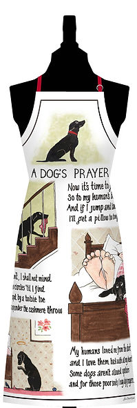 A Dog's Prayer Cotton Apron.jpg
