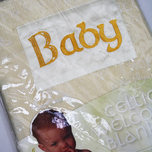Celtic Baby Blanket