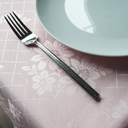 Pink Square Table Cloth