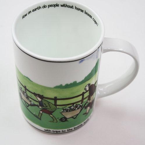 Tottering Bottle Bank Mug