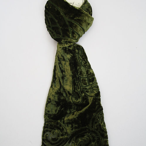 Celtic Scarf Moss Green
