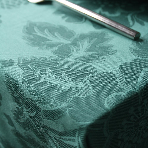 Chrysanthemum Tablecloth Green