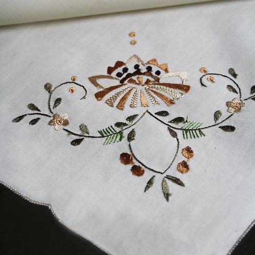 EMB Floral Napkins