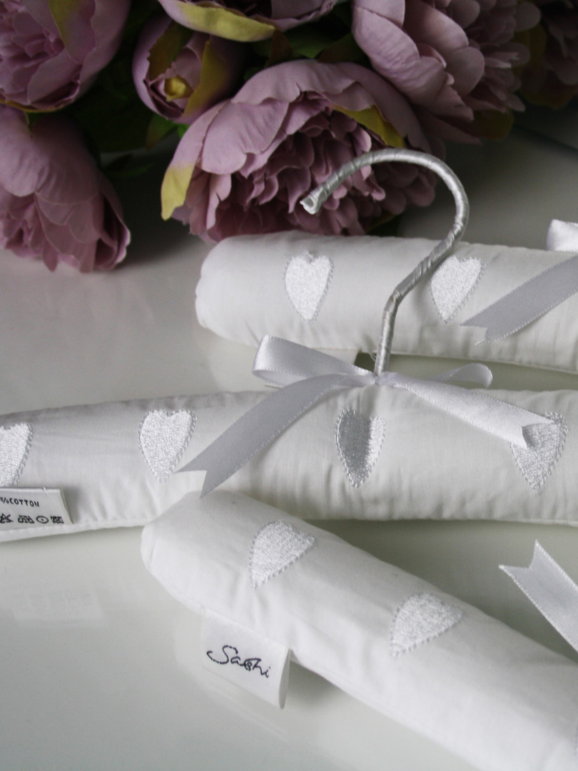 Embroidered Coat Hangers
