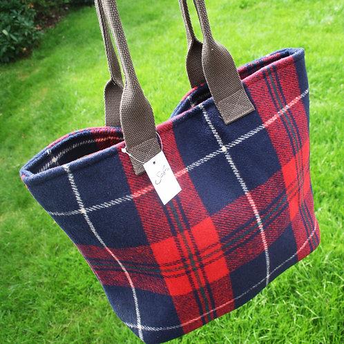 Tartan Shopper Bag