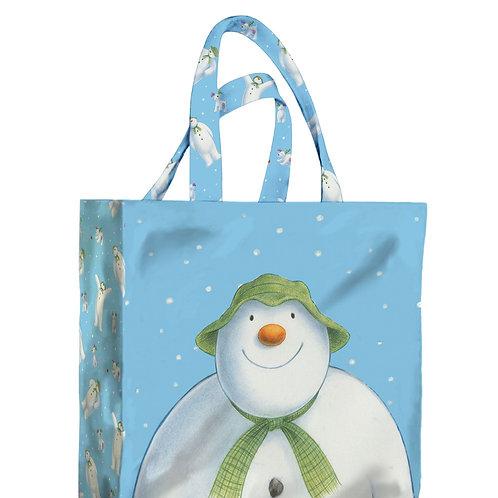 Snowman PVC Mini Gusset Bag