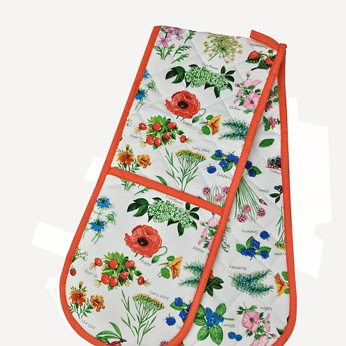 Hedgerow Double Oven Glove