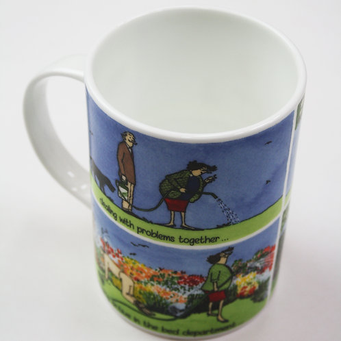 Tottering The Perfect Marriage Mug