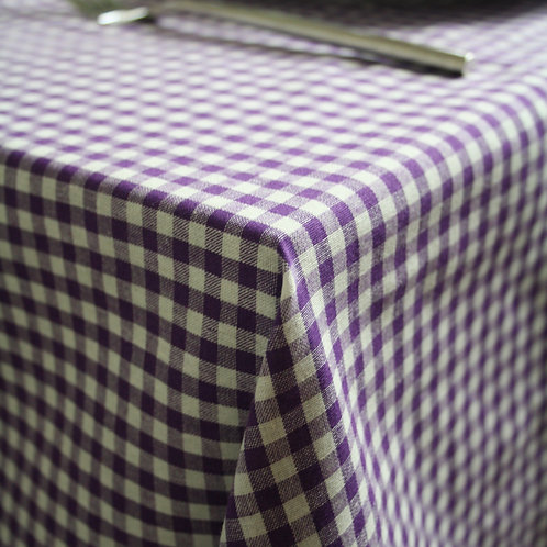 Greenwich Mulberry Table Cloth