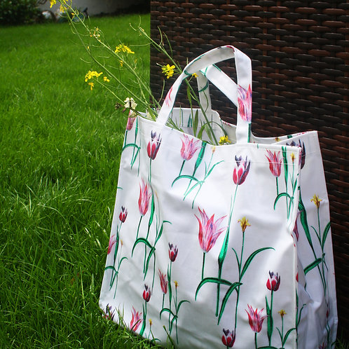 Tulips PVC Bag