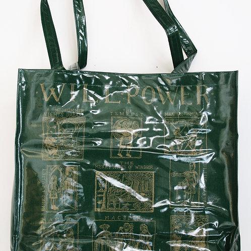 Will Power Shoulder Gusset PVC Bag