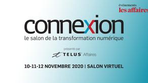 Montréal Connexion I SALON DE LA TRANSFORMATION NUMÉRIQUE [100% Virtuel]