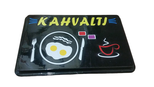 Kahvaltı Led Tabela  47x30 cm Kumandalı 16 renk