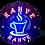 Thumbnail: Kahve Led Tabela 40x40 cm Kumandalı 16 renk
