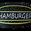 Thumbnail: Hamburger Led Tabela 55x31 cm Kumandalı 16 renk