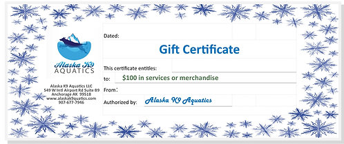 Gift Certificate $100. for services or merchandise