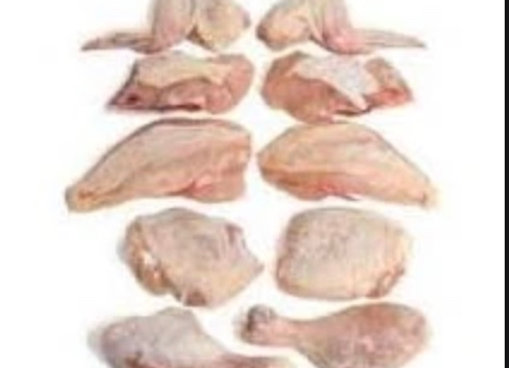 Chicken Whole Cut Parts, 1 pkt / 2 whole chicken cut up