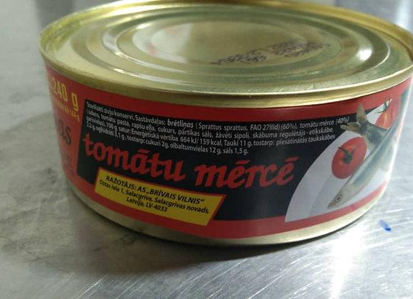 Sprat in Tomato Saue 240g