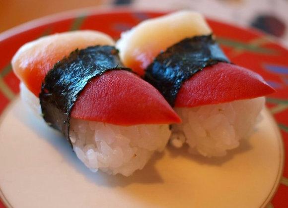 Surf Clam Halved Japanese Sashimi Frozen 20pc/pkt
