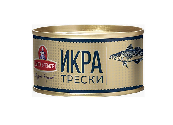 Salted Cod Roe, Ready to Eat 140g/tin