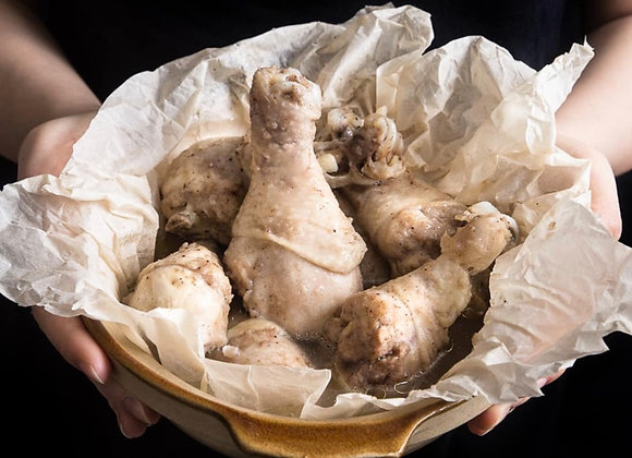 Whole Salt Baked Chicken