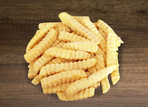 Crinkle Fries 2kg/pkt