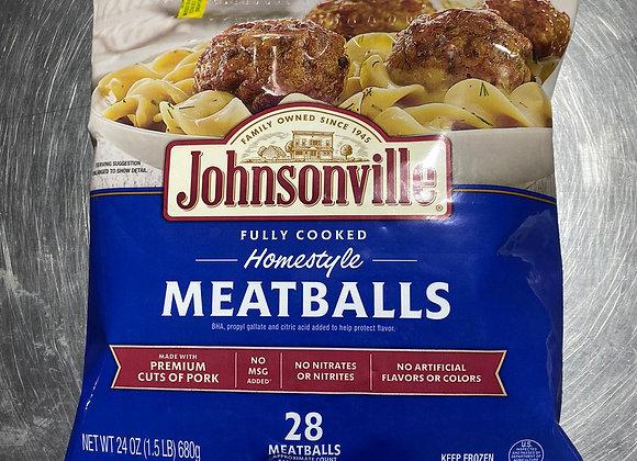 Homestyle Meatballs 28pc per 680g/pkt