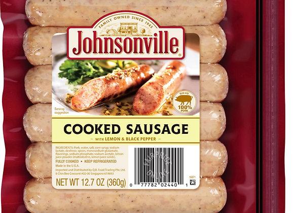 Johnsonville Sausage Lemon & Black Pepper