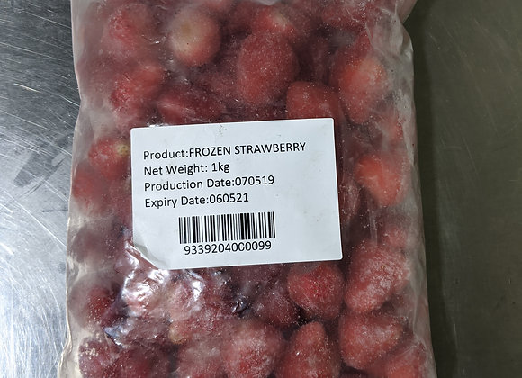 Strawberry Whole Frozen 1kg/pkt