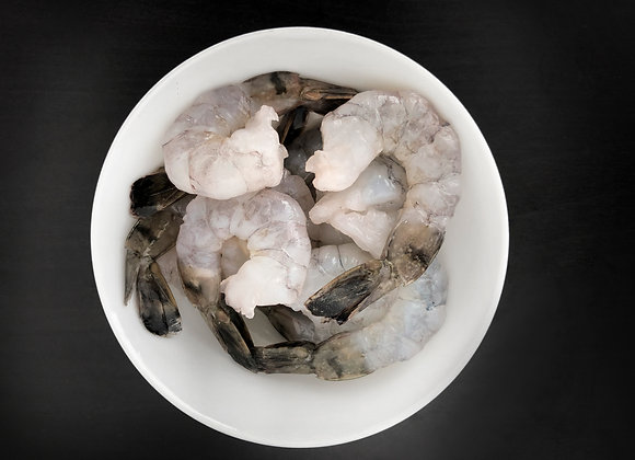 Grey Prawn Peeled Tail On L 40-50pc/kg