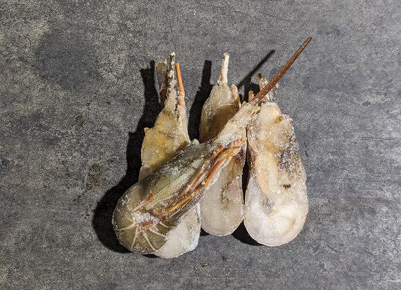 Rock Lobster Cut Half 4pc/pkt