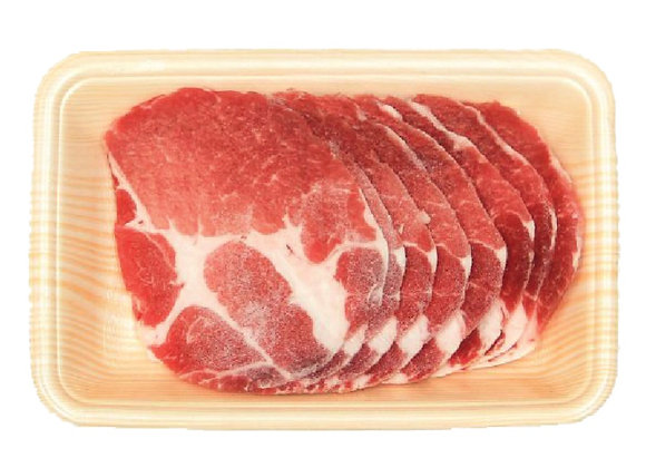 Pork Kurobata Collar Shabu USA 500g/pkt