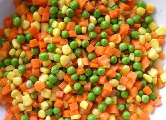 Mixed Vegetable Frozen 1kg/pkt