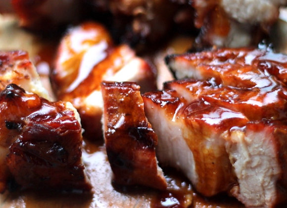 Fatty Char Siew Ready To Eat 450g/pkt