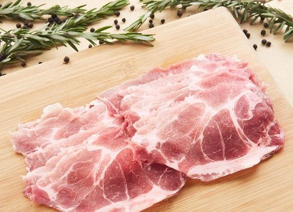 Pork Collar Shabu Brazil 500g/pkt