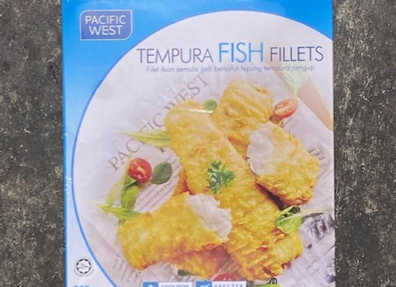 TEMPURA FISH FILLETS 325G/PKT