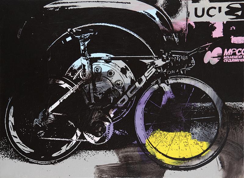 Le vélo FOCUS de CLM