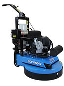 Professional Floor Stripping Machine used by Floor Care Specialists